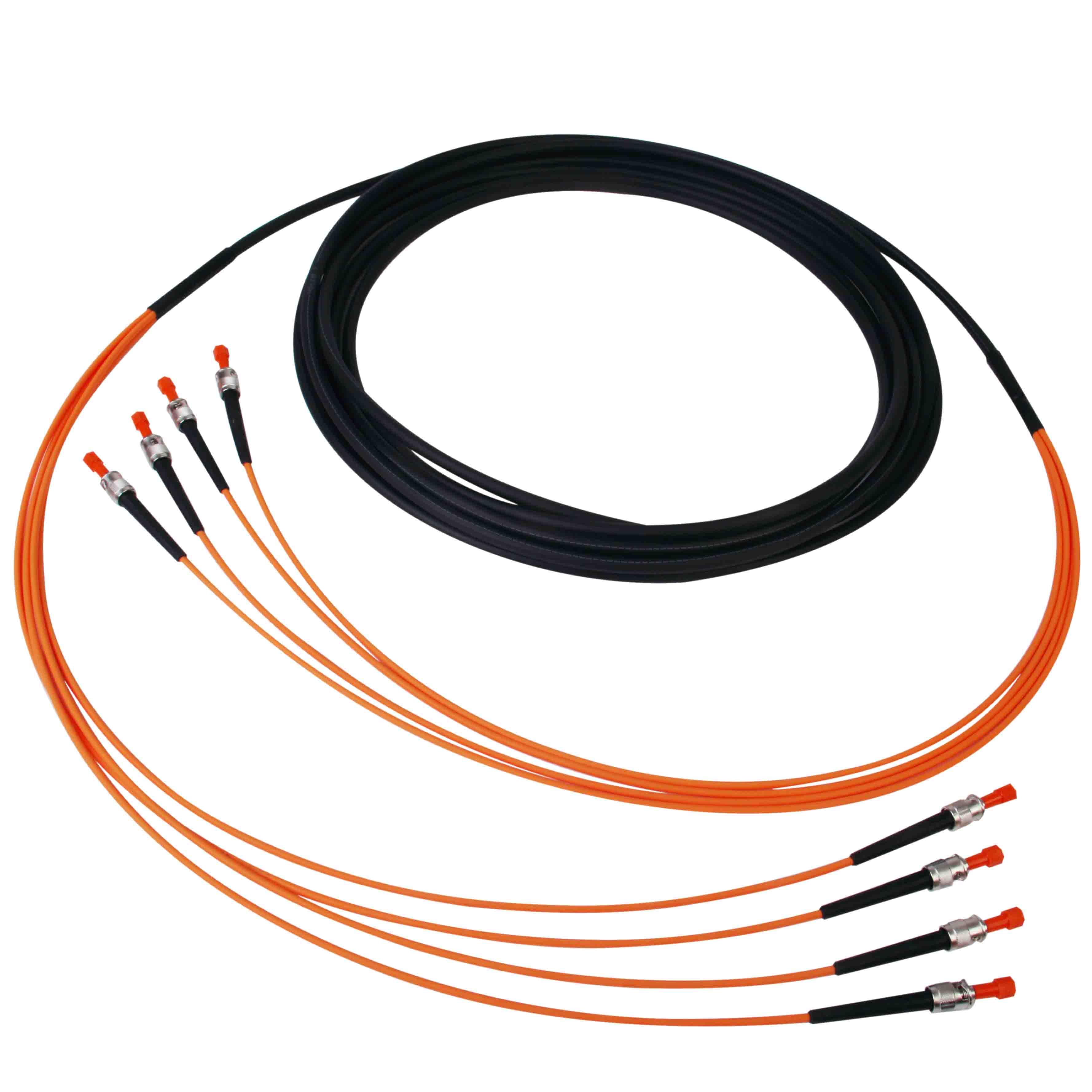 Konfektionierte Kabel ST-ST