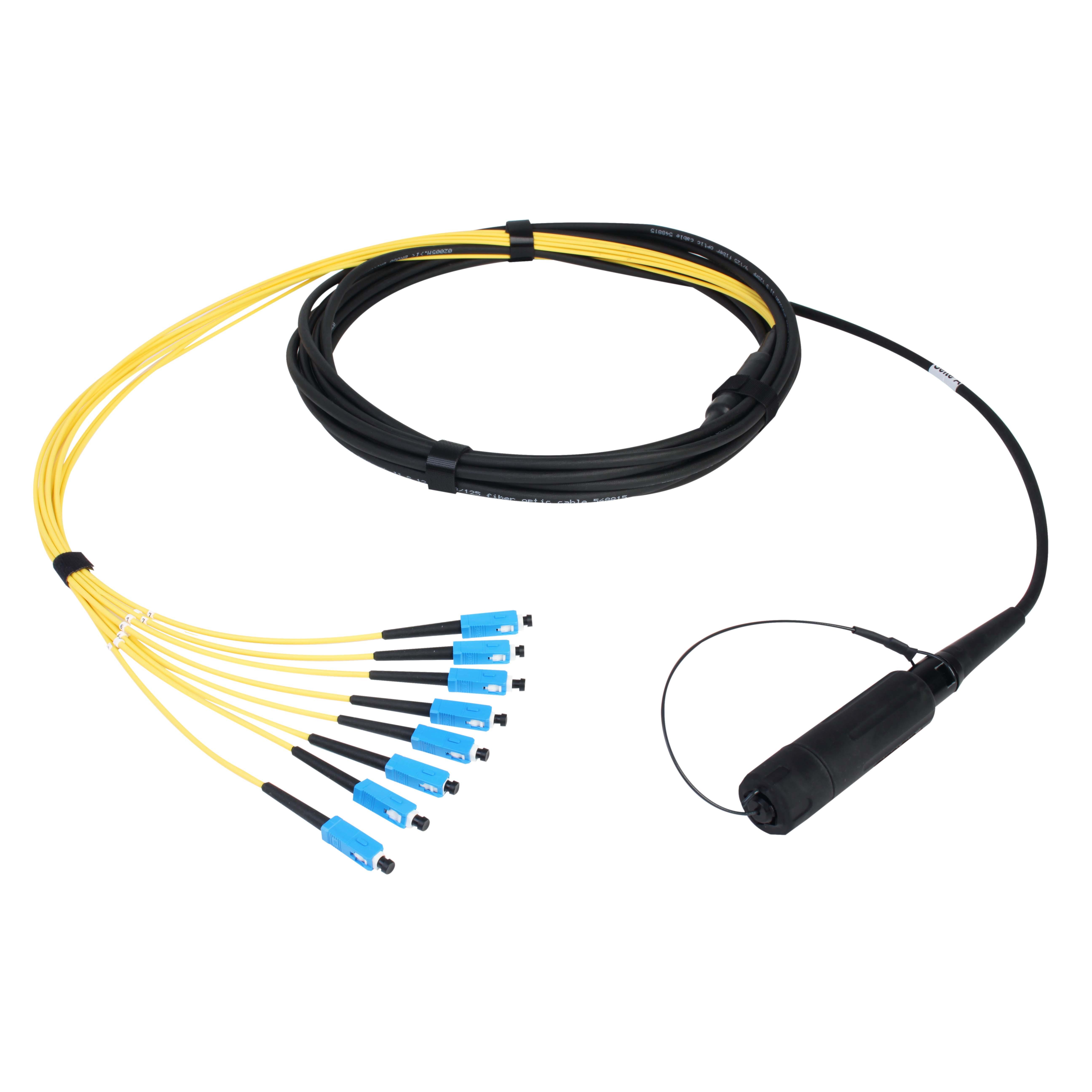 Konfektioniertes Kabel Eurolens-Standard